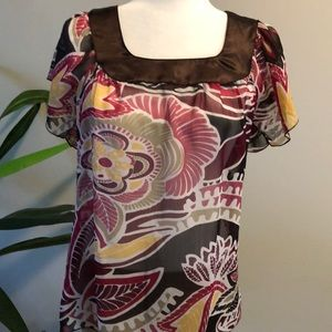 Rampage size small sheer top small
